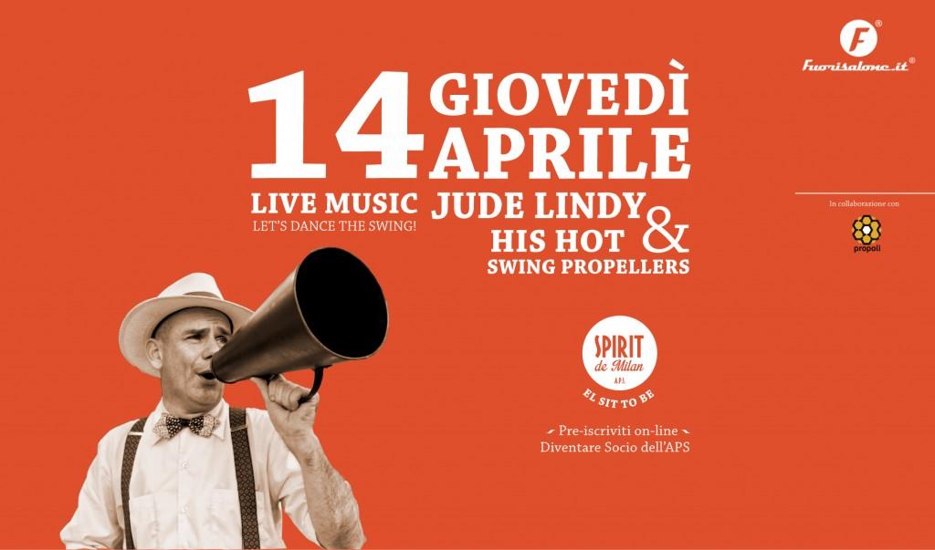 Grande riapertura special swing night 14 04 spirit for Spirit de milan aperitivo