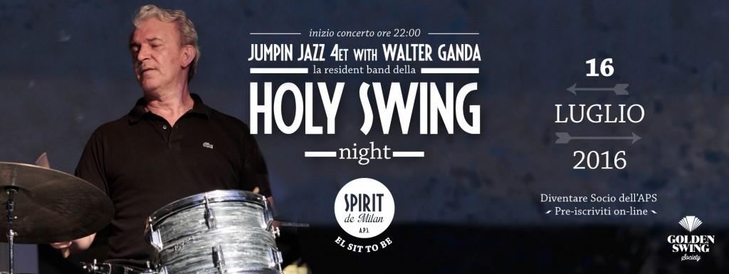 Holy swing night jumpin jazz 4et 16 07 spirit de milan for Spirit de milan aperitivo