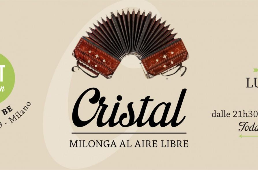 Cristal milonga al aire libre 13 07 spirit de milan for Spirit de milan aperitivo
