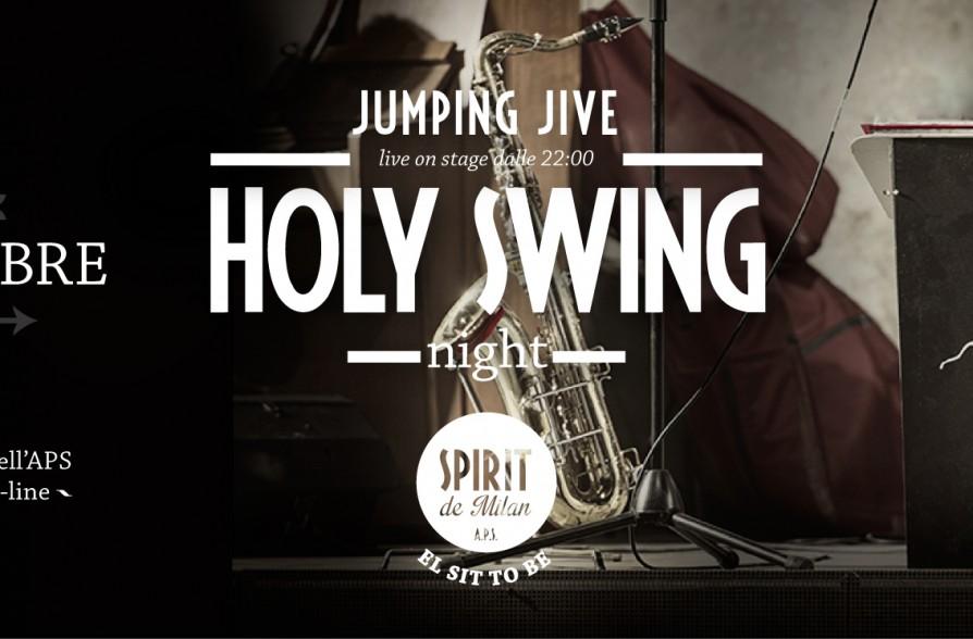 Holy swing night jumping jive 03 09 spirit de milan for Spirit de milan aperitivo