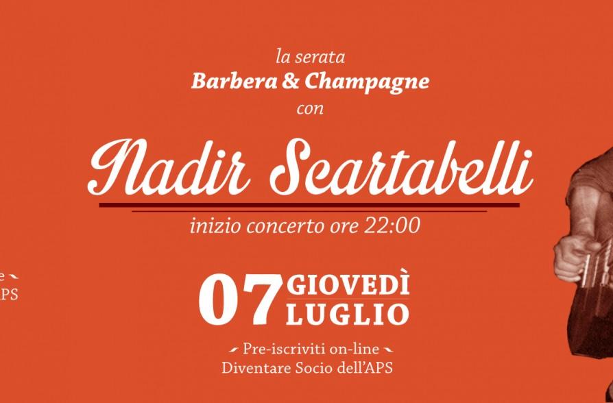 Barbera champagne nadir scartabelli 07 07 spirit for Spirit de milan aperitivo