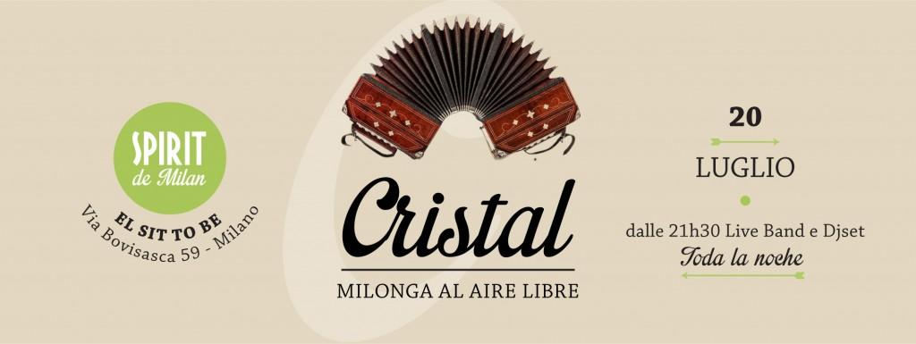 Cristal milonga al aire libre 20 07 spirit de milan for Spirit de milan aperitivo