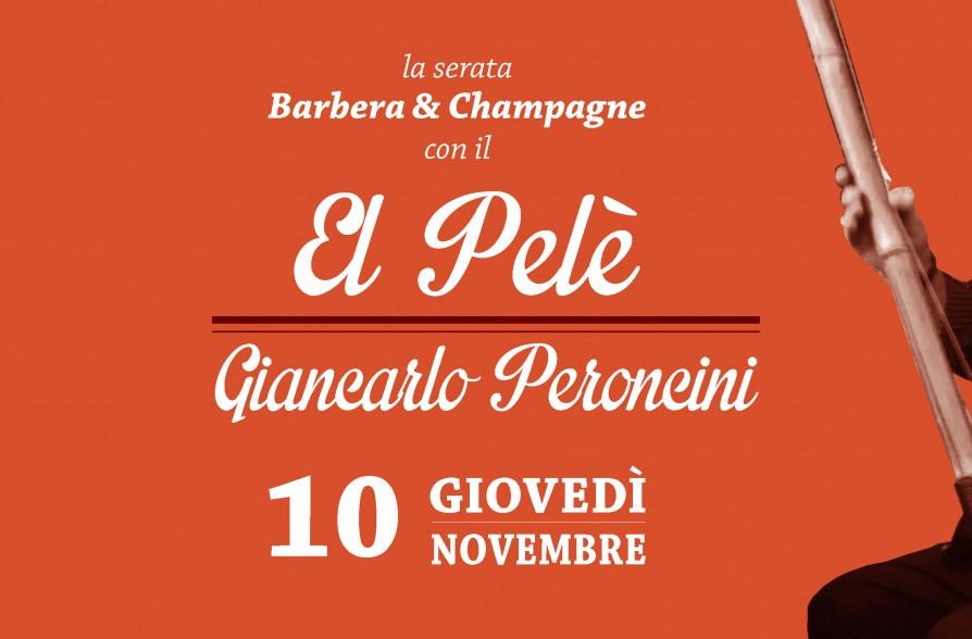 Barbera champagne giancarlo peroncini detto el pel for Spirit de milan aperitivo